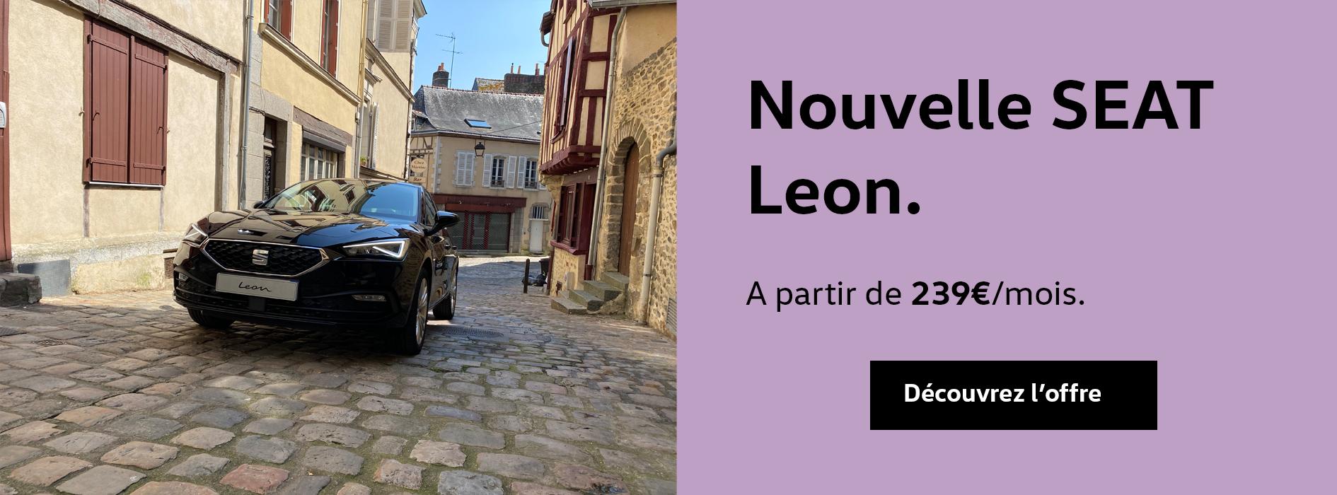Offre Nouvelle Leon Seat Laval