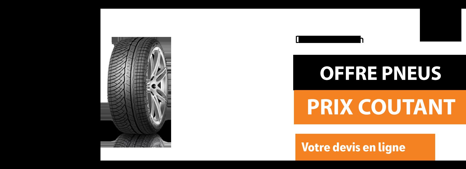 Bannière pneus prix coutant Seat laval